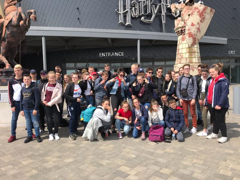 Voyage en  Angleterre des collègiens
