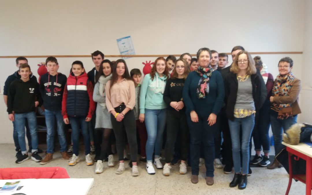 Journée d'information pour les secondes Bac Pro au lycée La Salle Montebourg