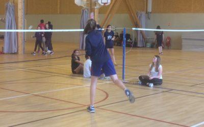 Championnat Régional Badminton UGSEL à Caen