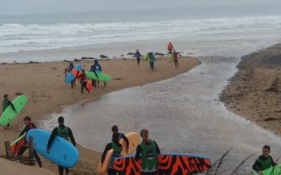 Stage de SURF au lycée agricole